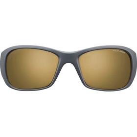 Julbo Junior 8-12Y Piccolo Polar Sunglasses Dark Gray/Yellow-Brown